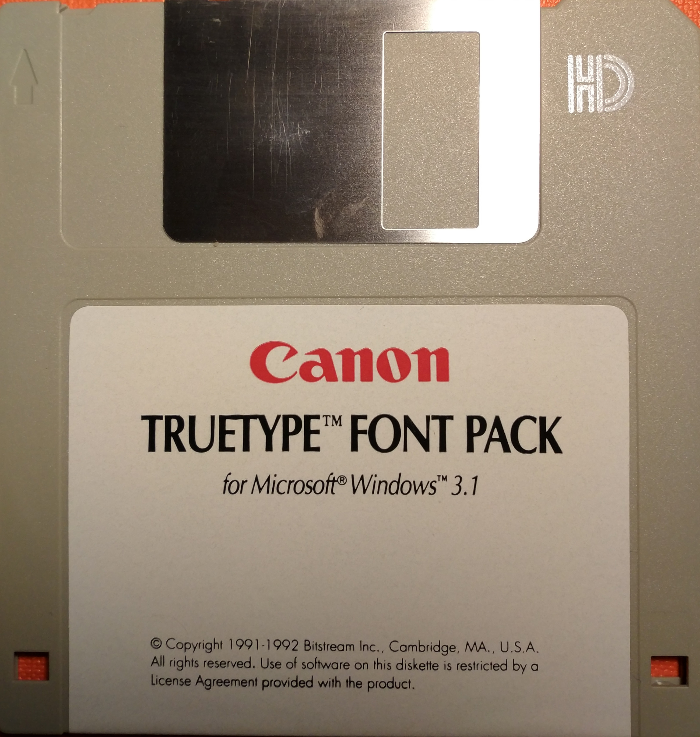 Download Canon Truetype Font Pack for Microsoft Windows 3.1 ...